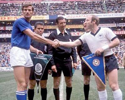 Italia-Germania 4-3 Messico 70